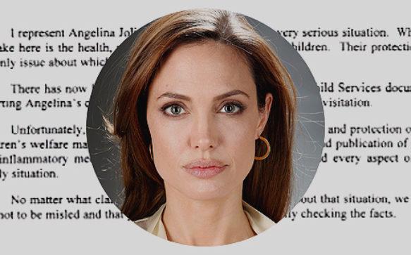 Advogado de Jolie envia mensagem a imprensa