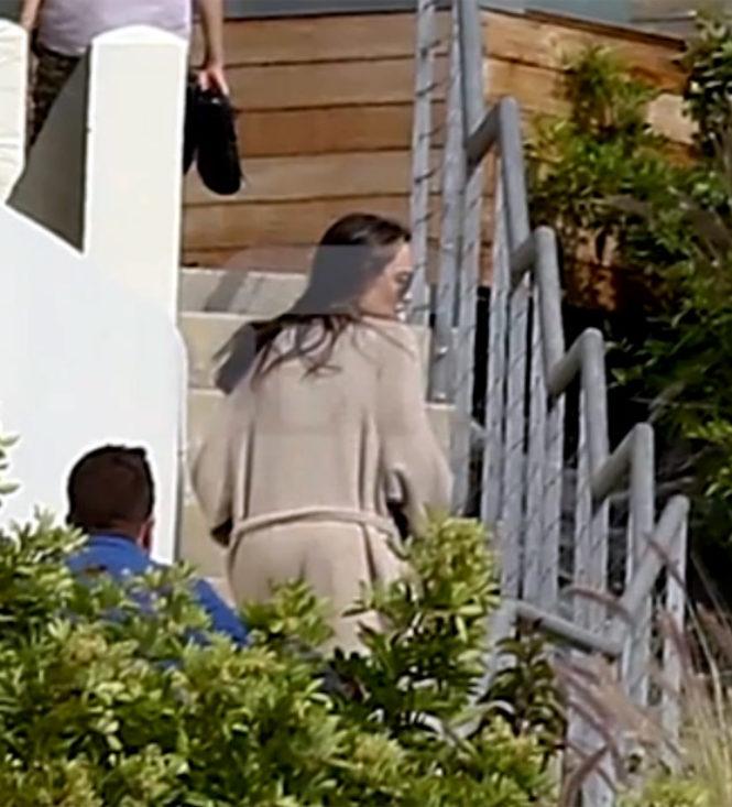 Angelina Jolie é vista pela primeira vez desde o divórcio