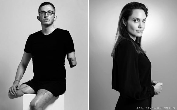 Angelina Jolie entrevista fotógrafo da UNHCR, Giles Duley