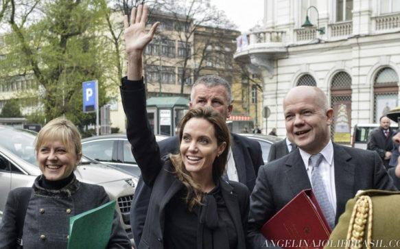 Arminka Helic fala sobre a amiga, Angelina Jolie
