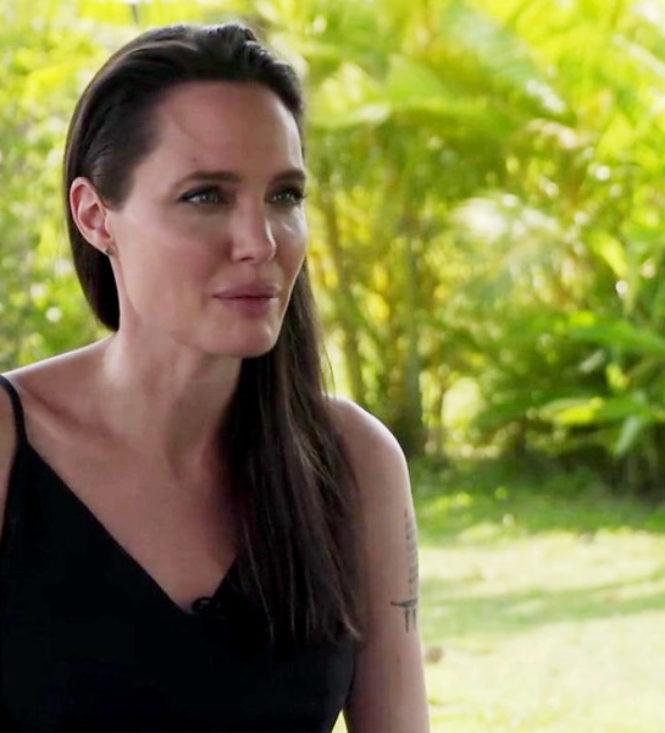 Angelina Jolie concede entrevista a BBC News