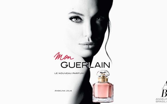 Liberadas novas fotos de Angelina Jolie para a Guerlain
