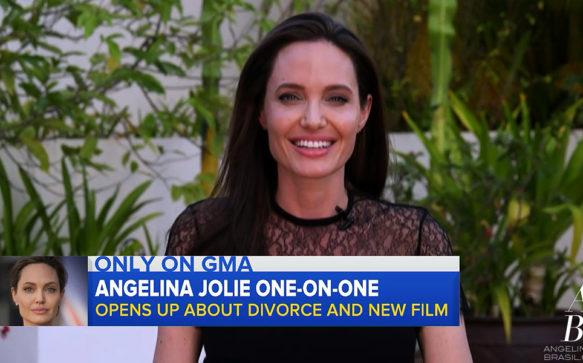 Jolie é entrevistada pelo programa Good Morning America