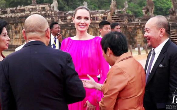 Jolie espera que os cambojanos sintam orgulho, não raiva