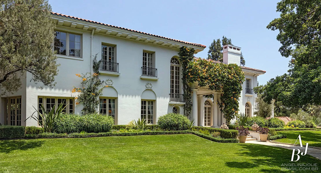 Rumor: Jolie compra mansao historica em Los Angeles