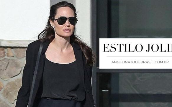 Estilo Jolie: Fazendo compras em Los Angeles