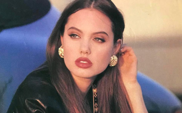 Estilista divulga antigas novas fotos de Angelina Jolie