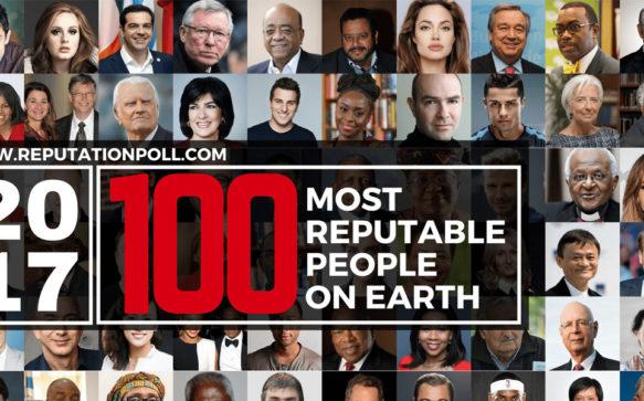 Angelina Jolie entre as pessoas mais respeitáveis de 2017