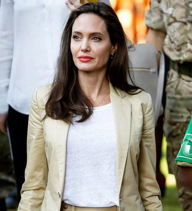 Jolie celebra Dia Mundial dos Refugiados no Quenia
