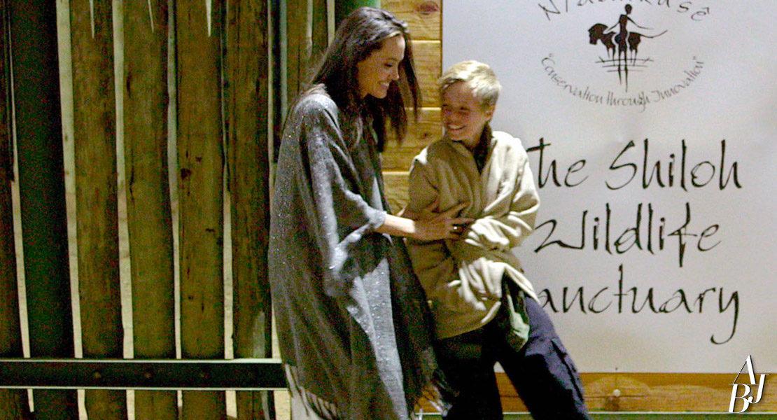 A Viagem de Angelina Jolie e Shiloh à Namíbia